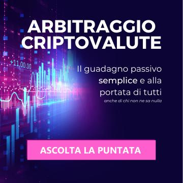 Arbitraggio Criptovalute - Passive Income