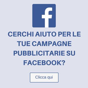 Consulenza Pubblicità su Facebook