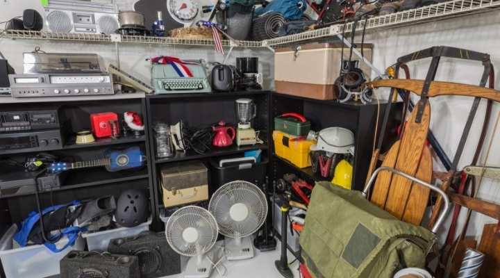 Lavoretto da casa: garage sales