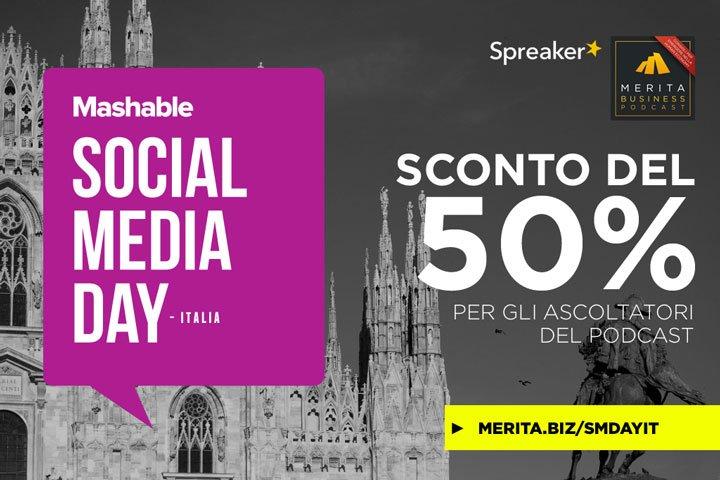 Mashable Social Media Day - Milano - Come si organizza un grande evento?