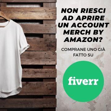 Come farsi approvare un account Merch by Amazon