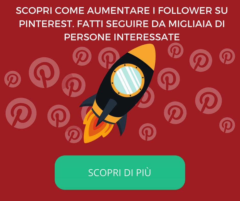 Come aumentare i follower su Pinterest