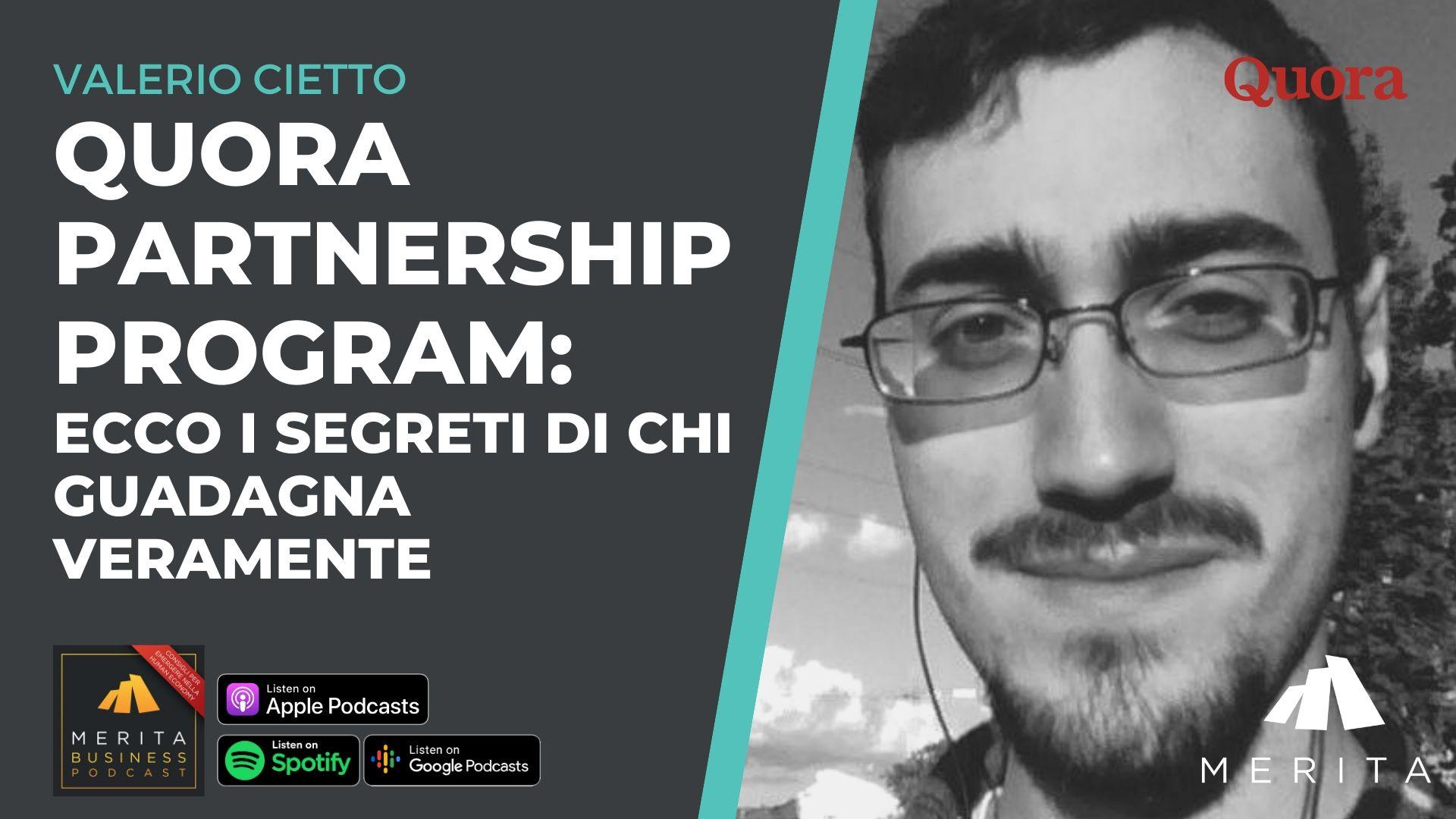 Quora Partnership Program