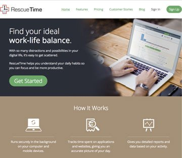 Rescue Time App