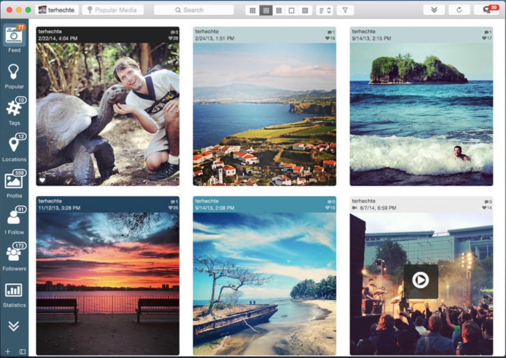 La Migliore app MAC per gestire instagram