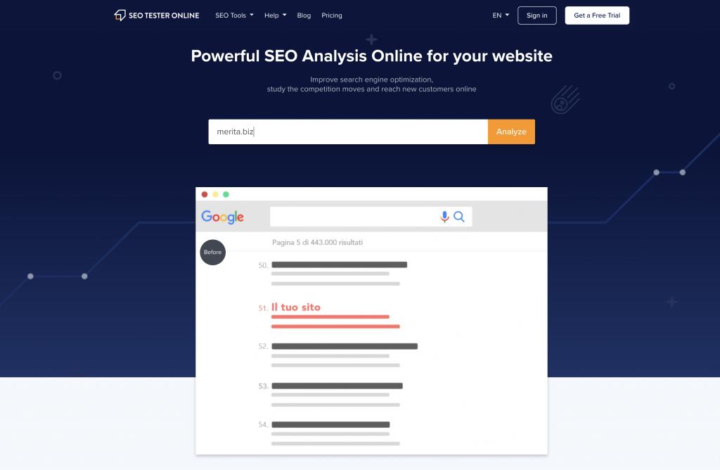 Seo Tester Online