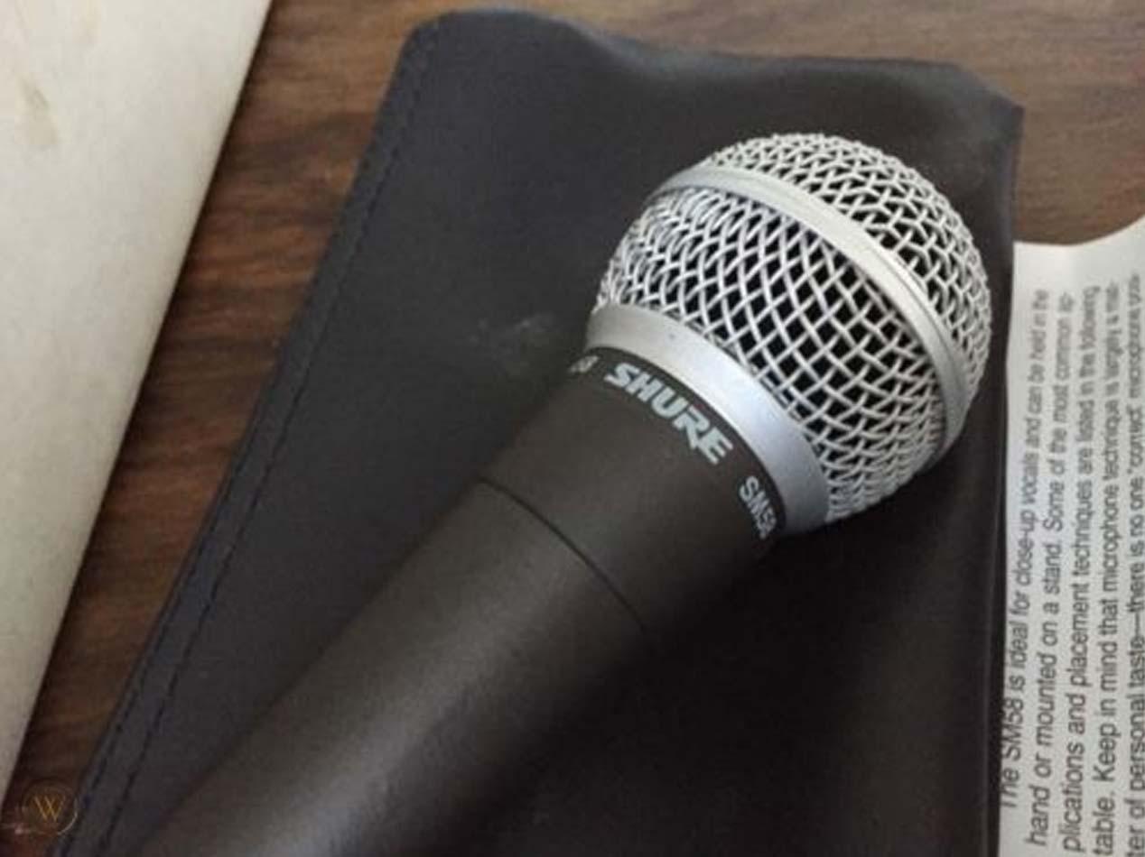 Microfono da Podcast - Shure SM58-LC