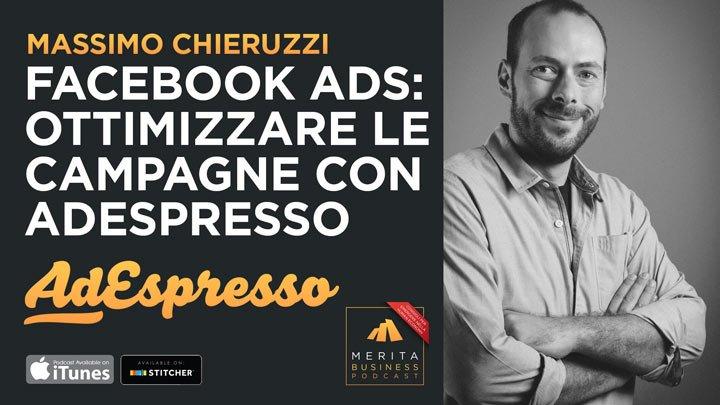 Massimo Chieruzzi, CEO di AdEspresso