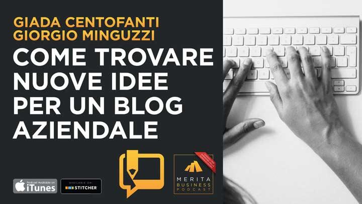 Blog Aziendale: come trovare l'ispirazione