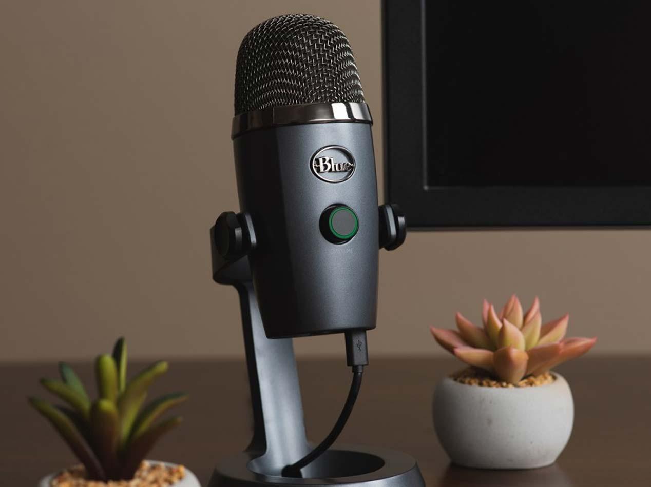 Blue Yeti Microfono per Podcast