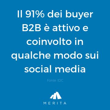 I buyer sono sui social