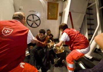 Operazioni di soccorso migranti in mare