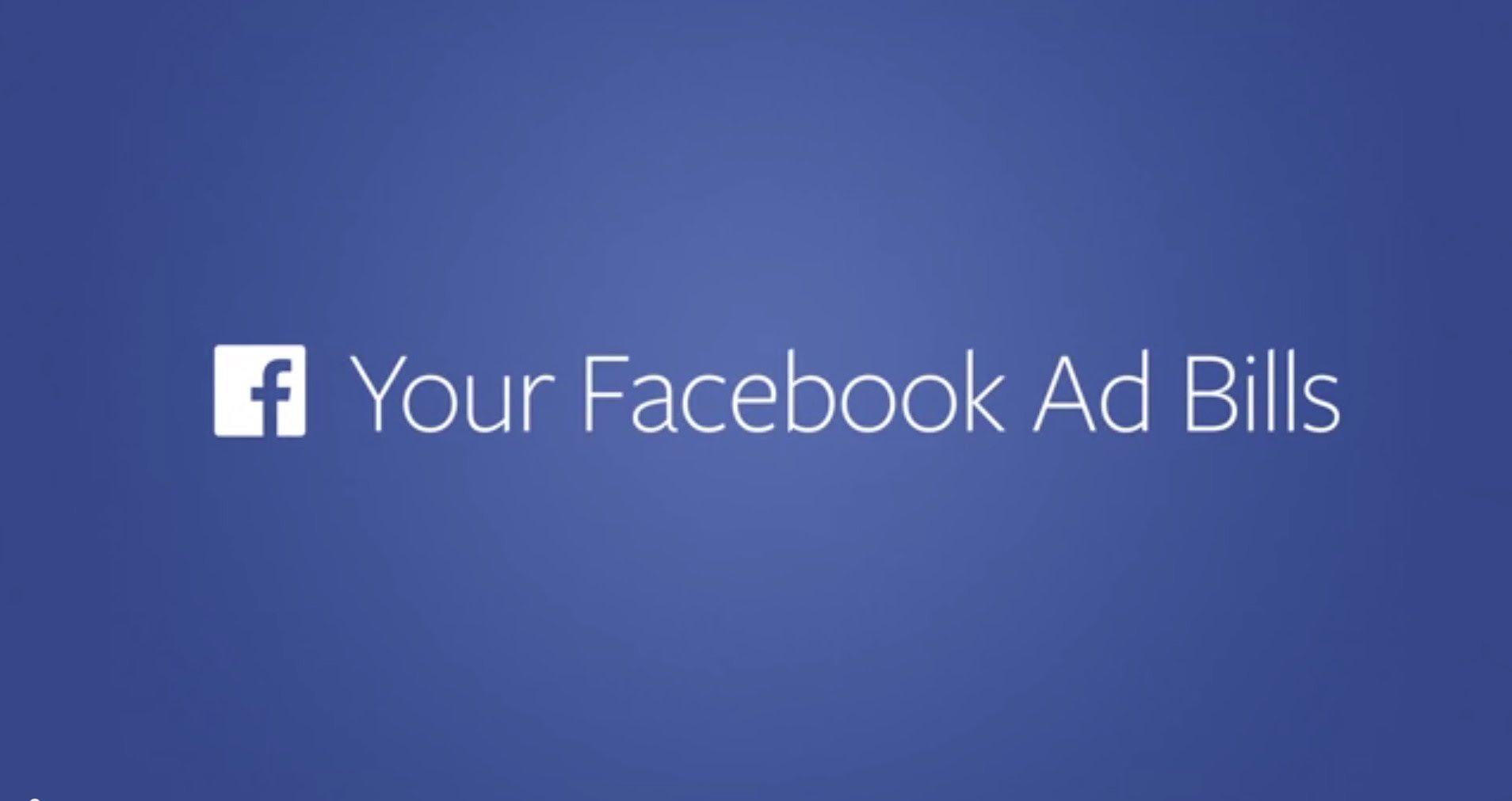 Come scaricare le fatture di Facebook