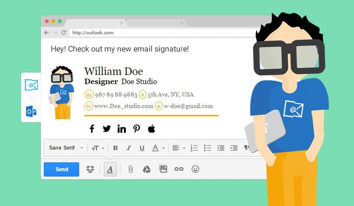 Firma in calce alle email