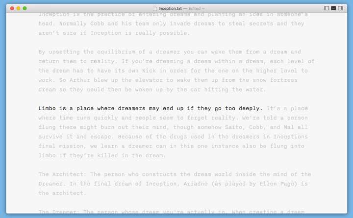 iAWriter per mantenere il focus per scrivere sul blog aziendale