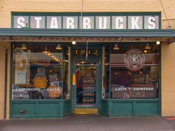 Il primo Starbucks a Seattle