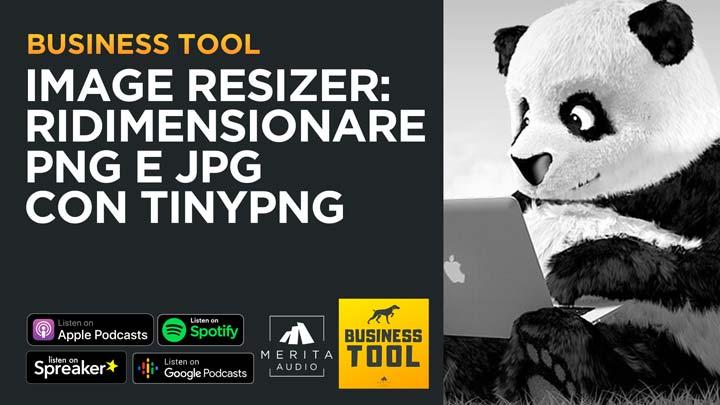 TinyPNG: Image resizer