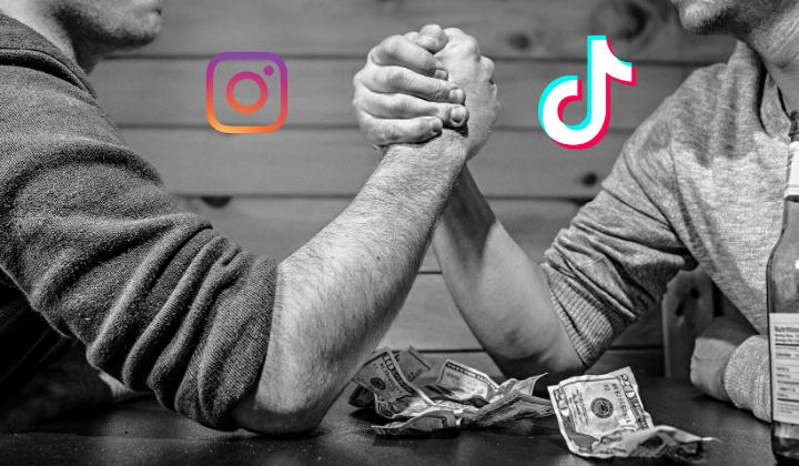 Instagram contro Tik Tok