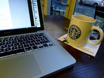 Lavorare dallo Starbucks