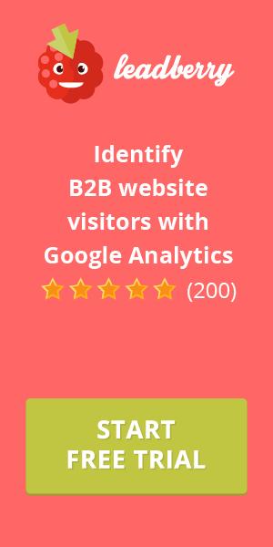 Leadberry funziona con Google Analytics