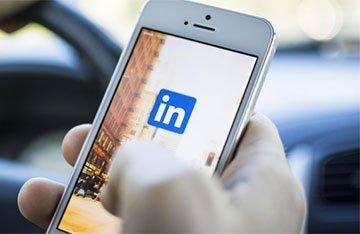 LinkedIn: versione mobile app
