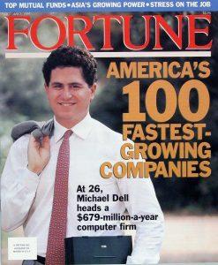 Michael Dell sulla copertina della rivista Fortune