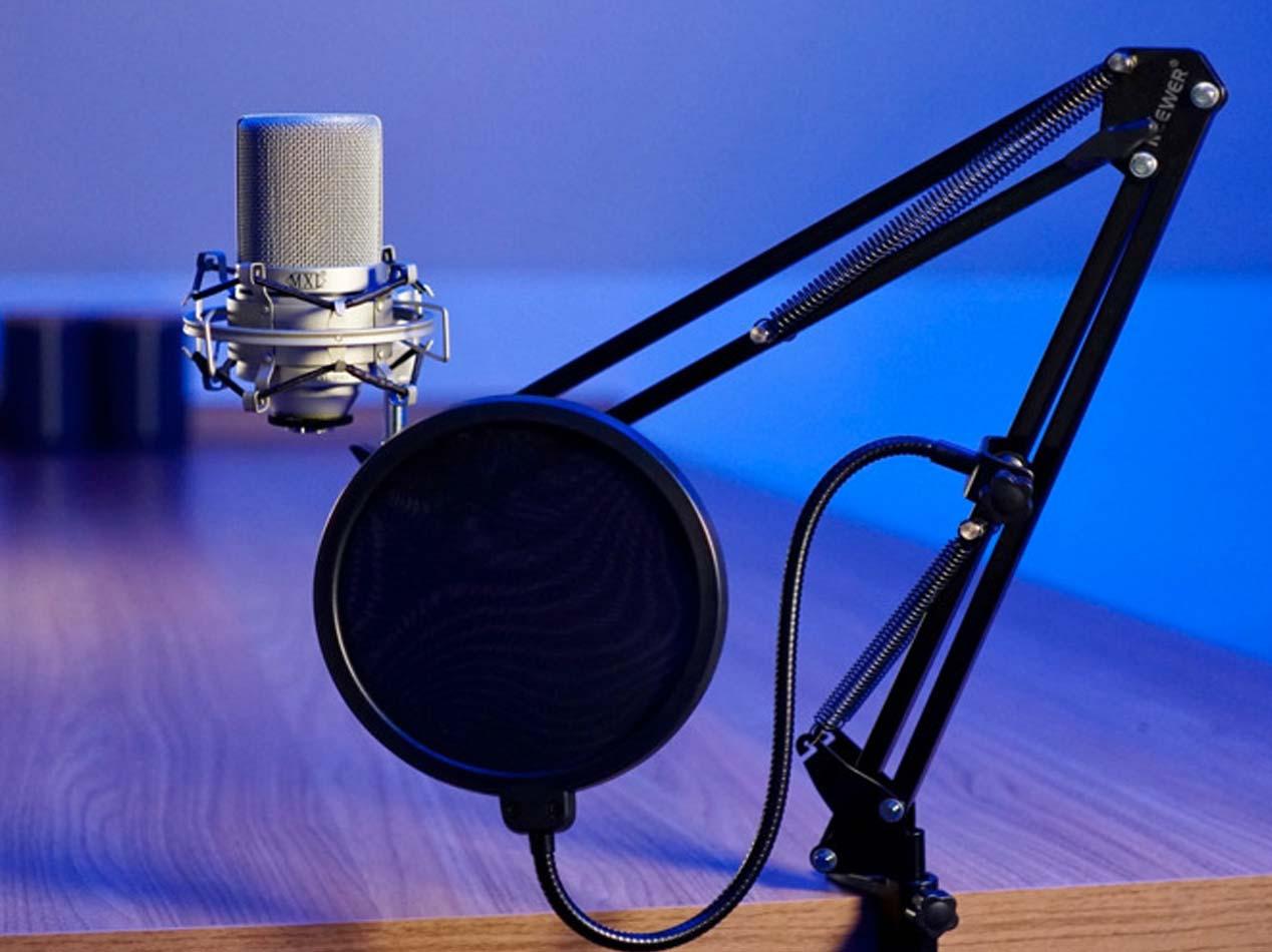 MKX 990 - Microfono per Podcast