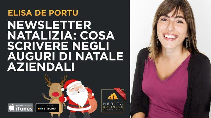 Cosa scrivere nella newsletter di Natale?