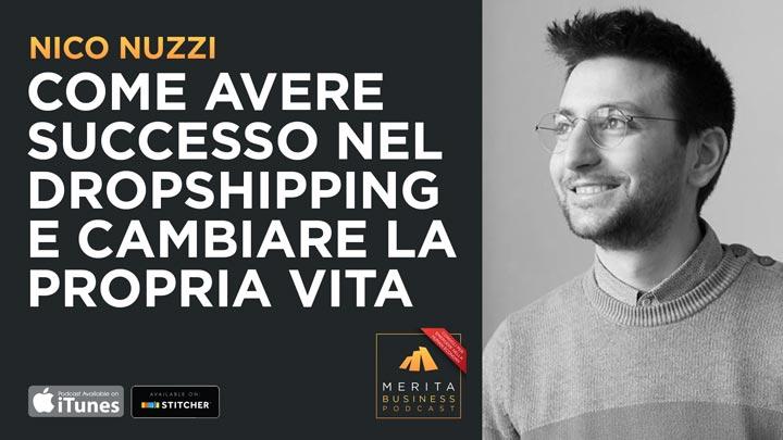 Nico Nuzzi racconta i segreti dietro il successo nel dropshipping