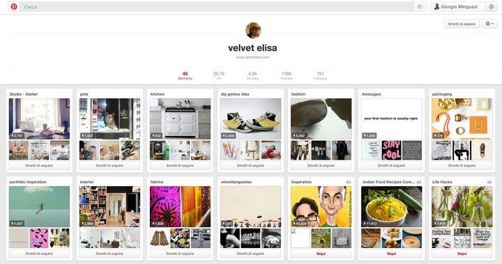 Pinterest: Velver Elisa