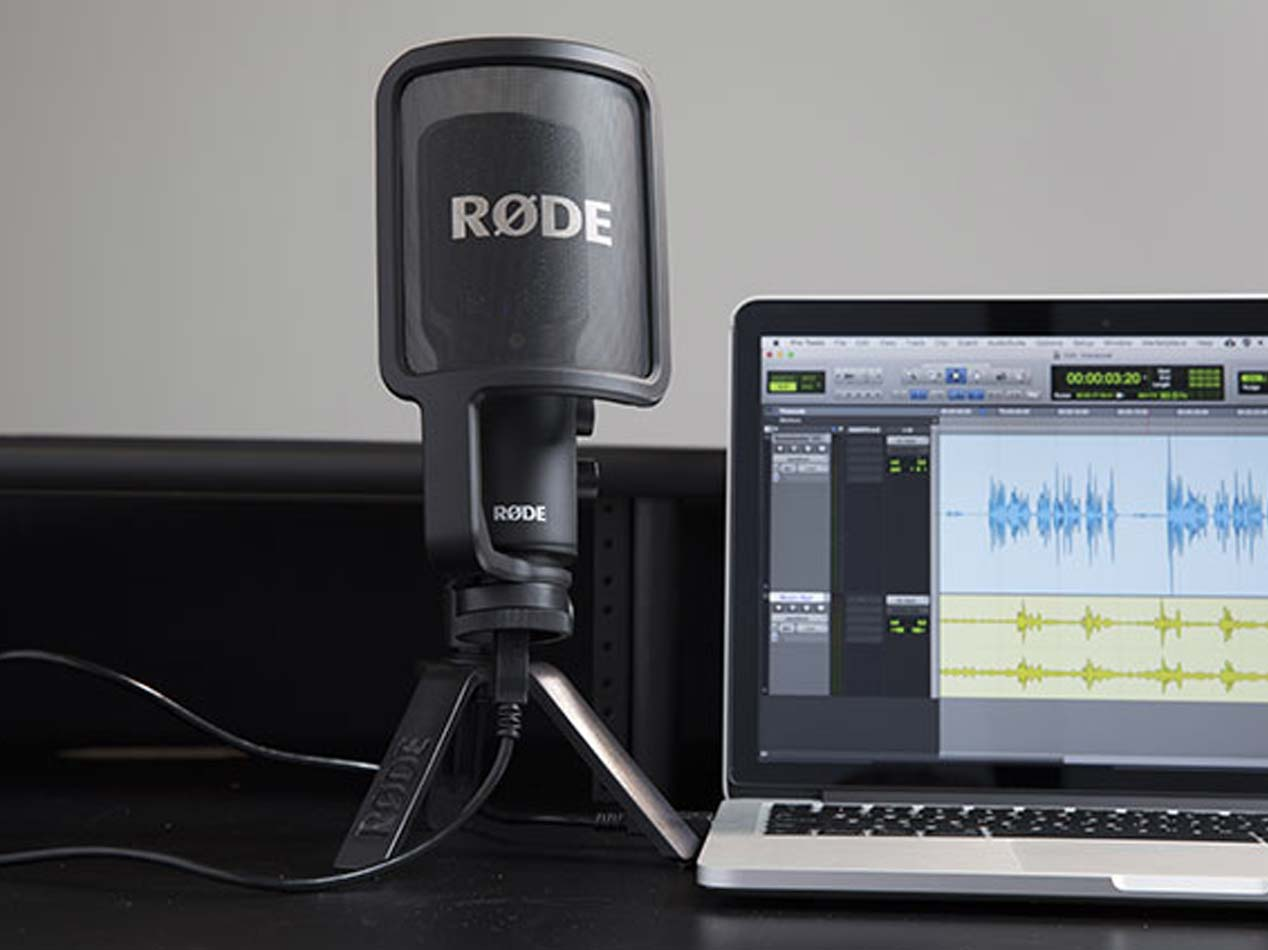 Rode NT-USB - Microfono per Podcast