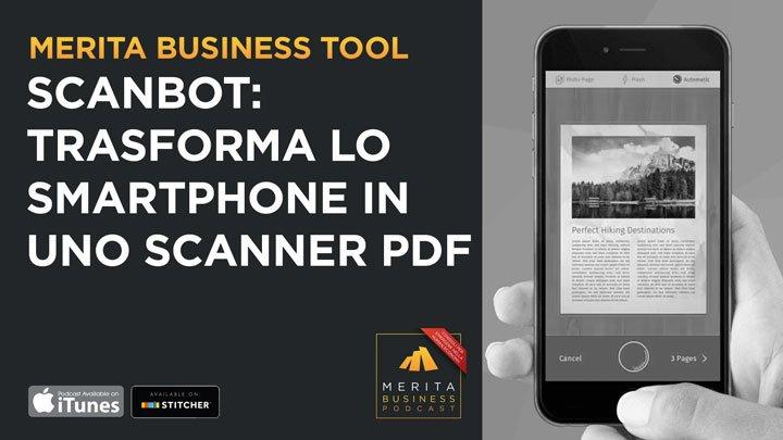 Scanbot: scanner con il telefonino