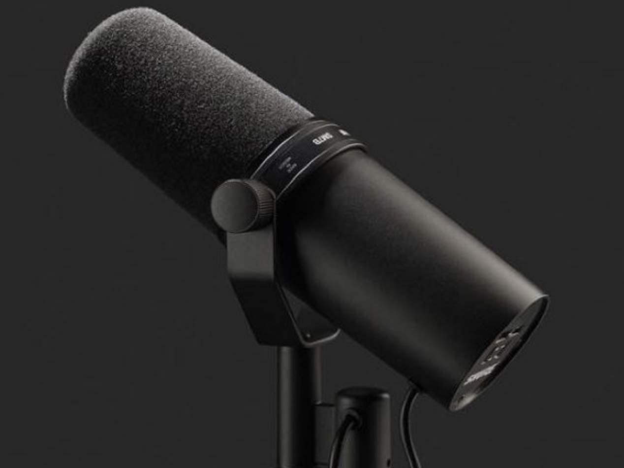 Shure SM7B - Microfono professionale per interviste