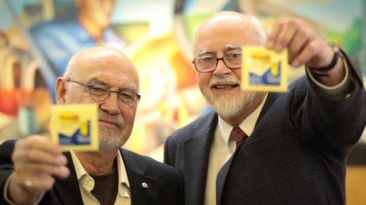 Spencer Silver e Arthur Fry: inventori dei Post-it