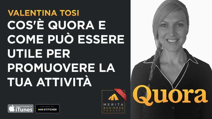 Valentina Tosi, head of community - Italia - Quora