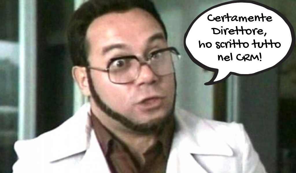 I Commerciali odiano il CRM: Furio è il perfetto CRM user