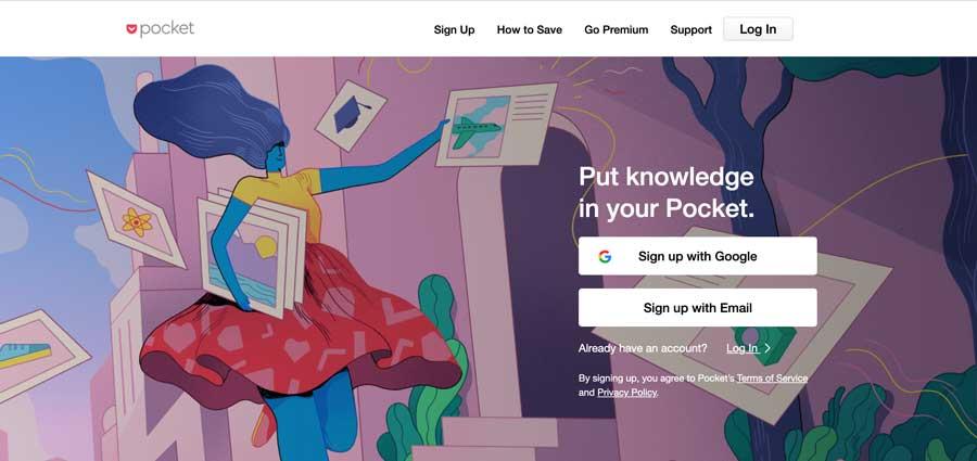 Chrome Extension: Pocket